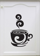 Cup of Cocoa/Coffee - Vinyl Wall Art Decal - $10.00