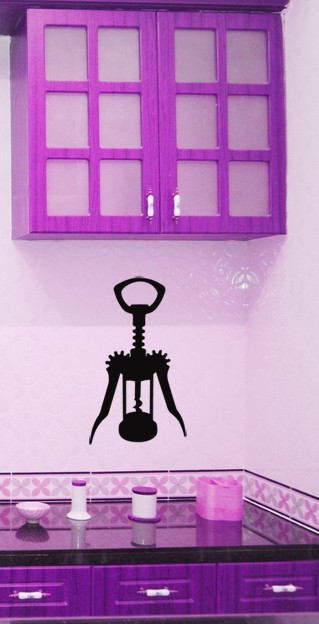 Primary image for Corkscrew - Vinyl Wall Art Decal