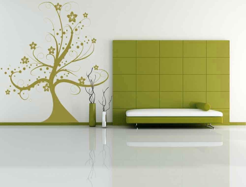 Blooming Whimsical Tree - Vinyl Wall Art Decal