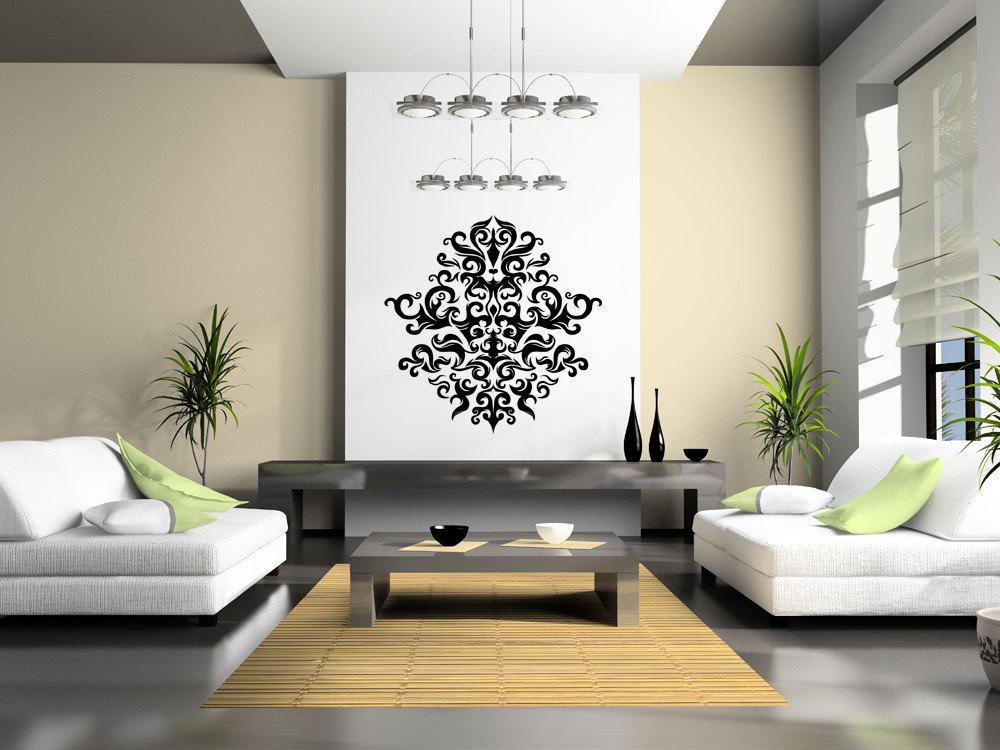 Beautiful Symmetrical Decor - Vinyl Wall Art Decal