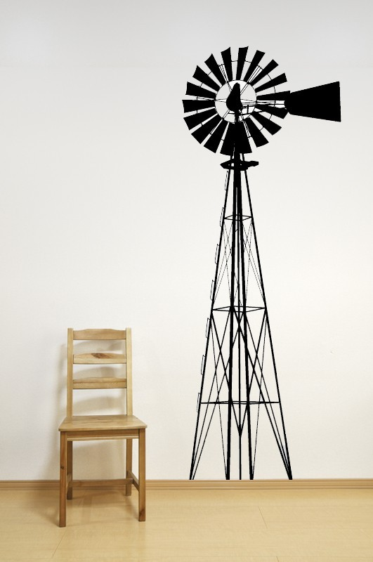 Windmill - Vinyl Wall Art Decal