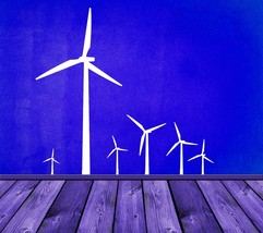 New Generation Windmills - Vinyl Wall Art Decal - $42.00