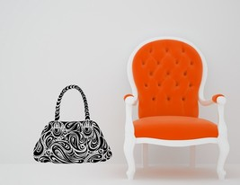 Paisley Purse - Vinyl Wall Art Decal - $34.00