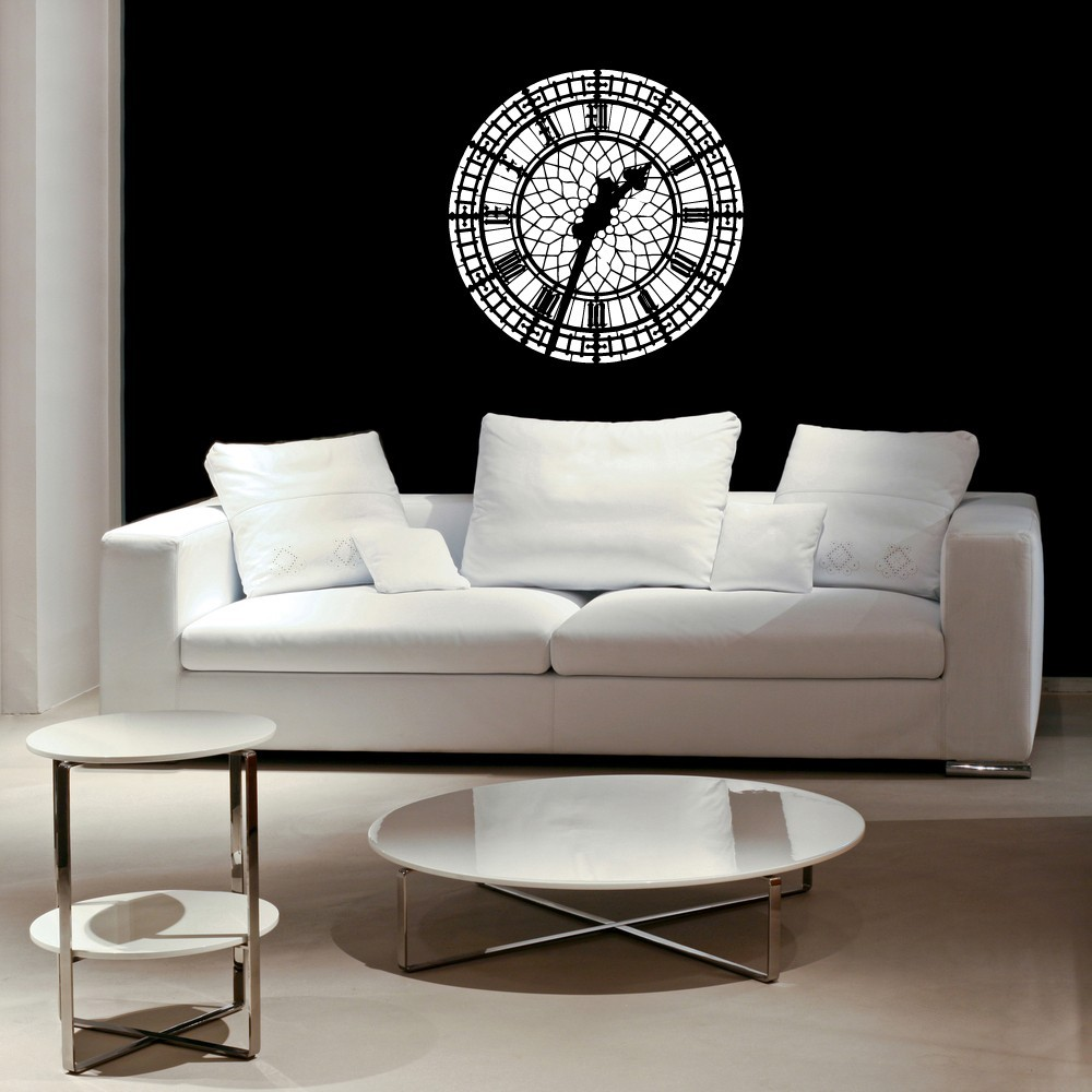 Primary image for Big Ben Clock Face - Vinyl Wall Art Decal