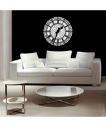 Big Ben Clock Face - Vinyl Wall Art Decal - $38.00