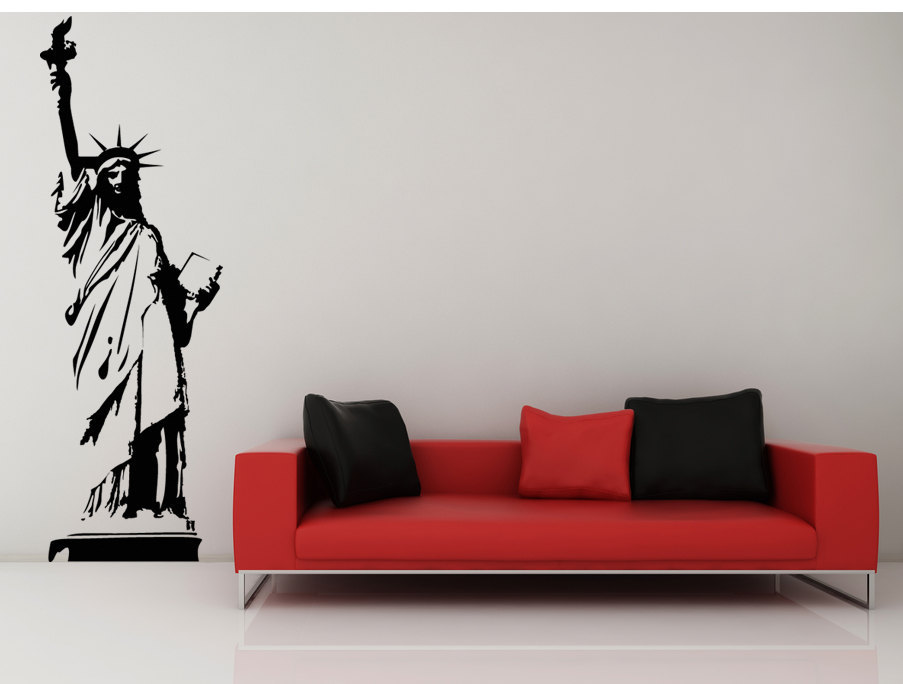 The Statue of Liberty - Vinyl Wall Art Decal