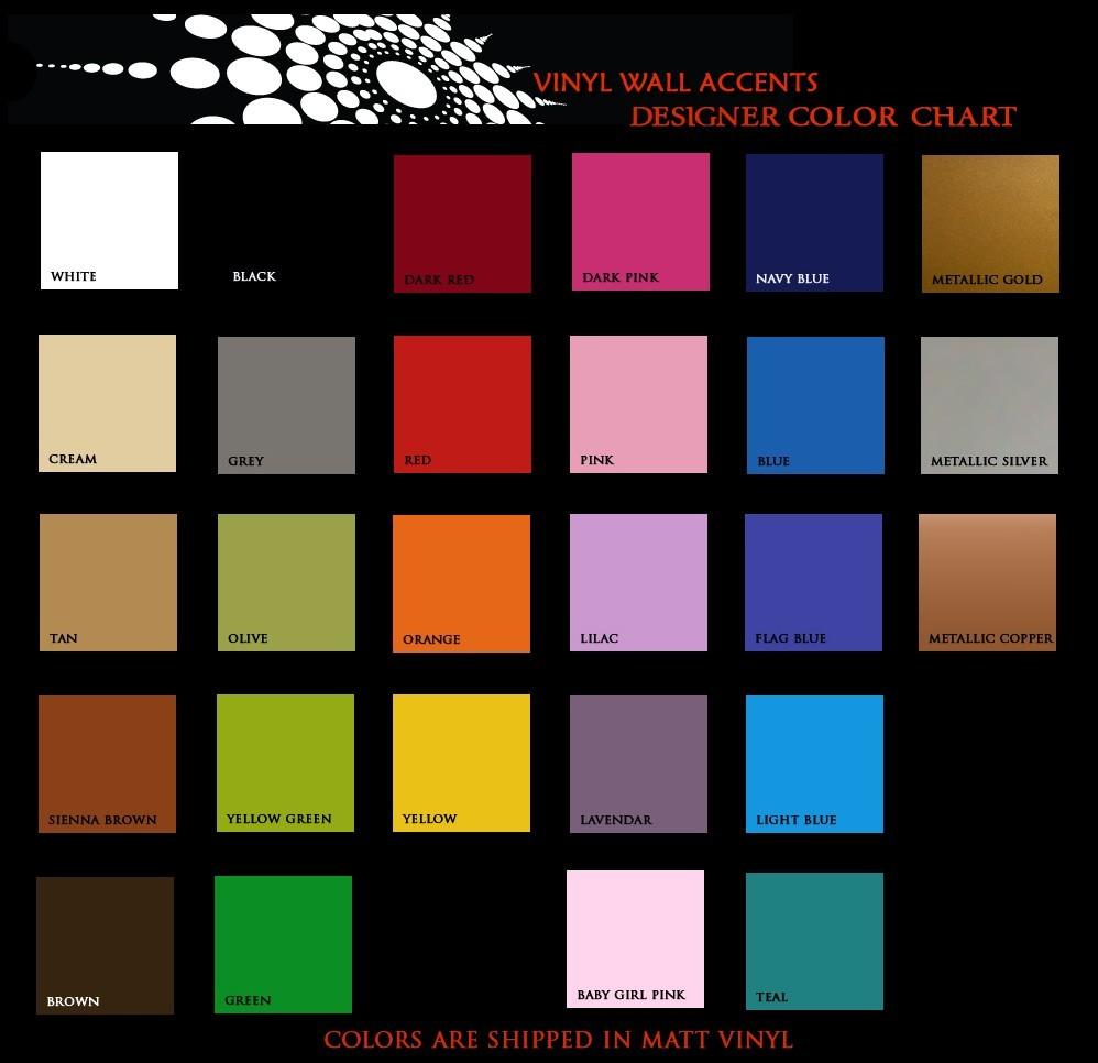 Decorative Spring Tiles (Lot of 3) - Vinyl Decals