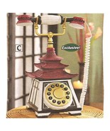 Pagoda Asian Telephone  Collectable - $32.95
