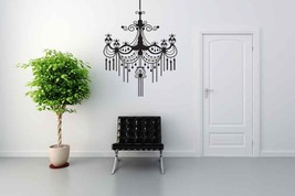Baroque Chandelier - Vinyl Wall Art Decal - $49.00