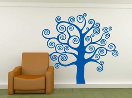Tree of Swirls - Vinyl Wall Art Decal - $66.00