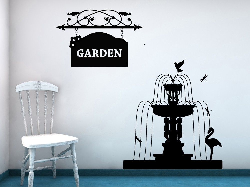 Decorative Garden Sign or Personalize it to fit your needs -