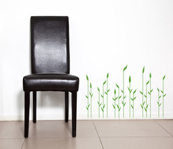 Decorative Reeds - Vinyl Wall Art Decal - $34.00