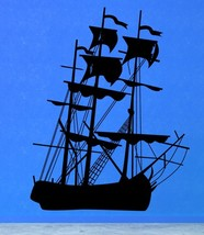 Blackbeard's Pirate Ship - Vinyl Wall Art Decal - $38.00