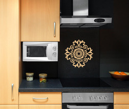 Arabesque Medallion - Vinyl Wall Art Decal - $32.00