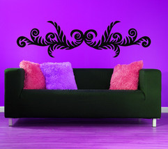 Acanthus Swirl Leaf Art - Vinyl Wall Decal - $45.00