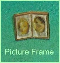 Petite Princess Accessory Miniature Picture Frame