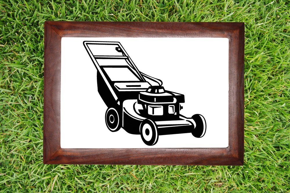 Lawnmower - Vinyl Wall Art Decal