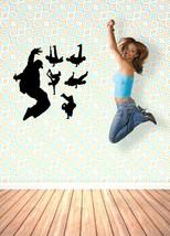 Set of 6 Hip Hop Dancers - Vinyl Wall Art Decal - $32.00