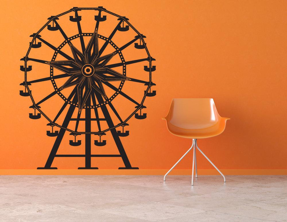 Ferris Wheel - Vinyl Wall Art Decal