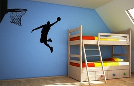 Awesome Basketball Action - Vinyl Wall Art Decal - $42.00