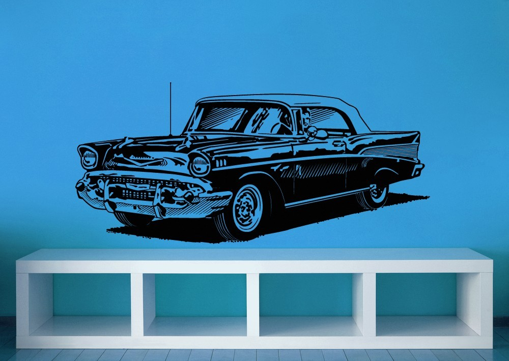 1950's Classic Chevy - Vinyl Wall Art Decal