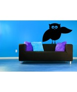 Whimsical Owl - Vinyl Wall Art Decal - $24.00