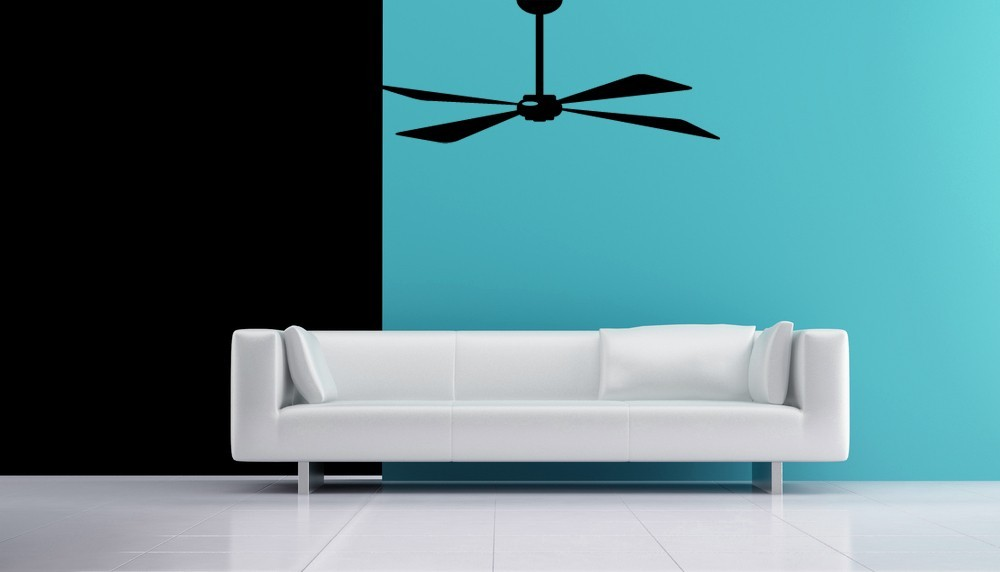 Primary image for Ceiling Fan - Vinyl Wall Art Decal