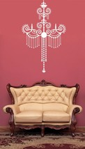 Baroque Decorative Chandelier - Vinyl Wall Art Decal - $36.00