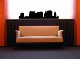Salt Lake City Skyline - Vinyl Wall Art Decal - $49.00