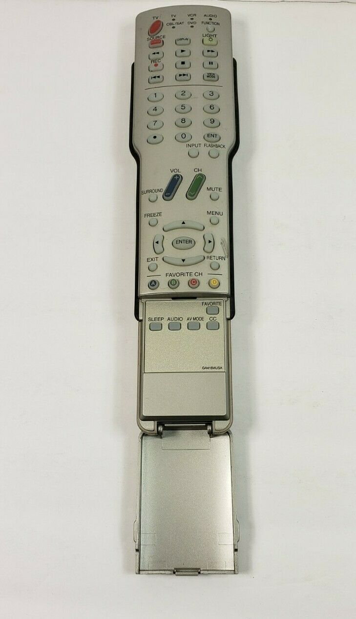 Sharp Aquos Silver GA416WJSA Remote Tested Working P1 - $13.22