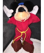 "Walt Disney World Mickey Mouse Plush Sorcerer Apprentice 13"" tall Toy Co... - $9.90"