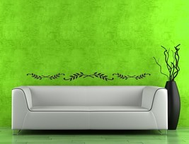 Acanthus Leaf Decor/Border - Vinyl Wall Art Decal - $28.00