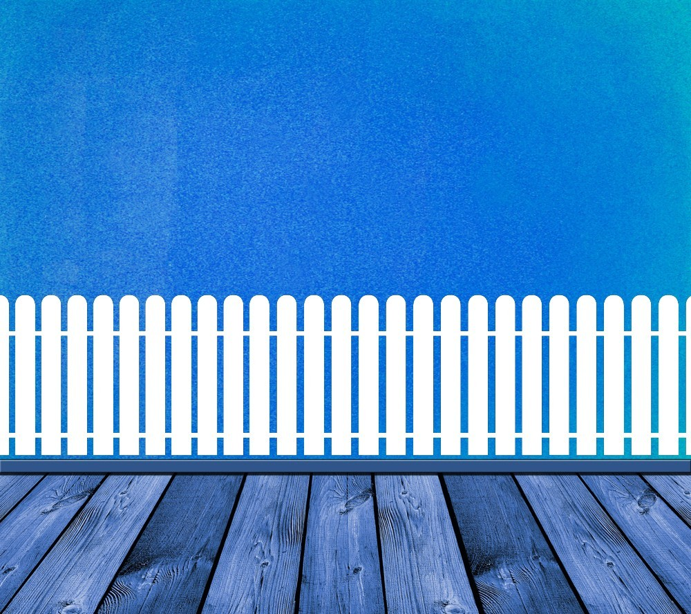 Primary image for Picket Fence - Vinyl Wall Art Decal