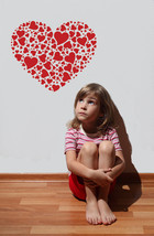 Heart of Hearts - Vinyl Wall Art Decal - $32.00