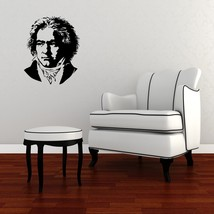 Beethoven Bust - Vinyl Wall Art Decal - $45.00