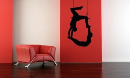 Trapeze Duo - Vinyl Wall Art Decal - $38.00
