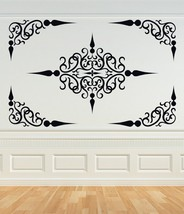 Decorative Scroll Panel or Ceiling Panel - Vinyl Wall Art De - $55.00