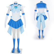 Sailor Moon Mizuno Ami Ver 3 Super Fight anime cosplay costume dress - $82.39
