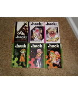 Manga lot of 6 .hack//legend of the twilight and AI Buster - $23.00