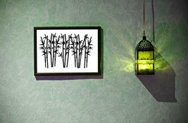 Decorative Bamboo - Vinyl Wall Art Decal - $32.00