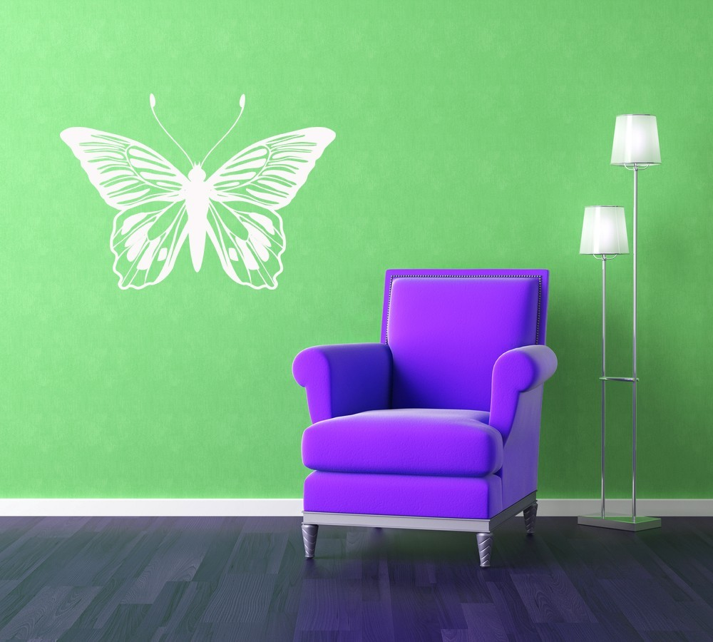 Monarch Butterfly  - Vinyl Wall Art Decal