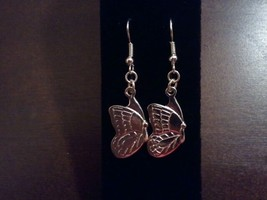 Sterling Silver plated butterfly earrings - $7.00