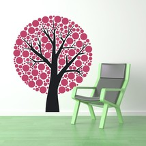 Tree of Polka Dots - Vinyl Wall Art Decal - $69.00