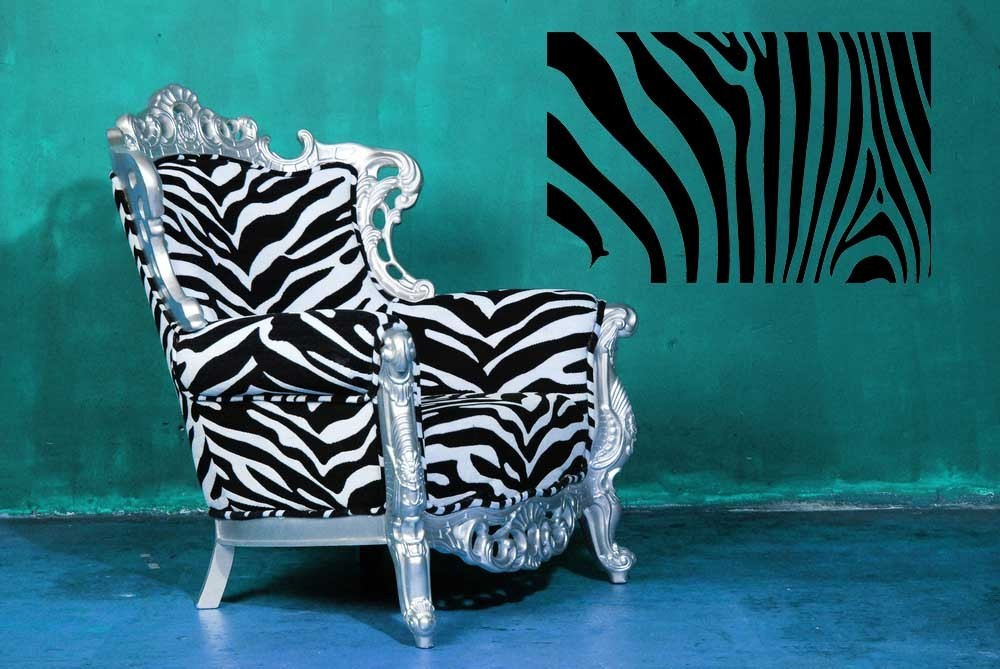 Zebra Print - Vinyl Wall Art Decal
