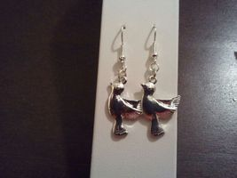 Sterling silver plated dove earring - $7.00
