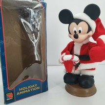 Vtg 1996 Disney Unlimited Santa's Best Christmas Animation Mickey Mouse ... - $65.41