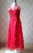 A-Line Princess Floor Length Flower Girl Dress-Tulle Sleeveless Scoop Neck NWT image 4