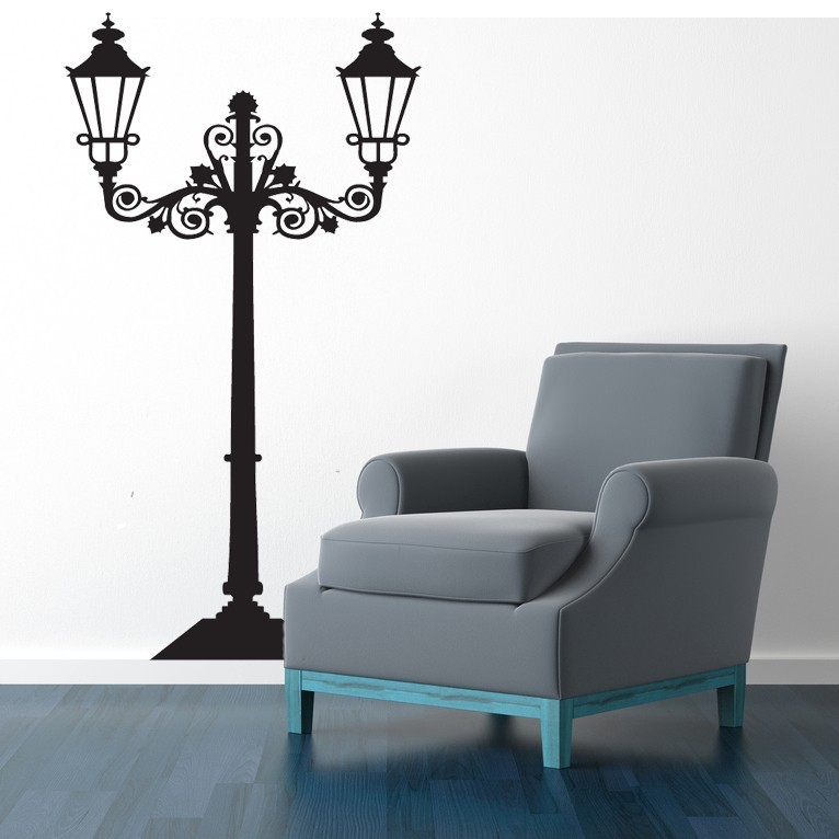 Street Lamp - Vinyl Wall Art Decal