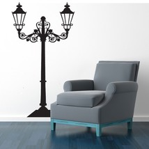 Street Lamp - Vinyl Wall Art Decal - $69.00