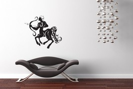 Sagittarius Horoscope Art - Vinyl Wall Art Decal - $34.00